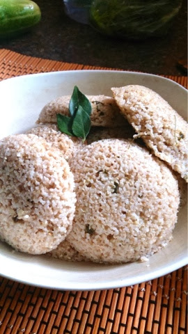 wheat rava idlis