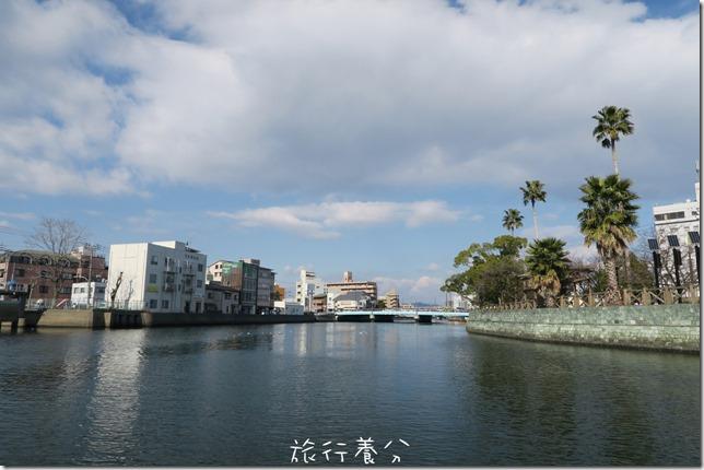 四國德島 葫蘆島周遊船 新町川水際公園 (19)
