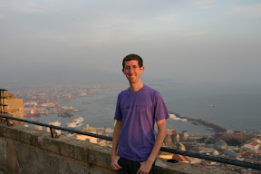 Me on top of Castel Sant'Elmo, overlooking Naples
