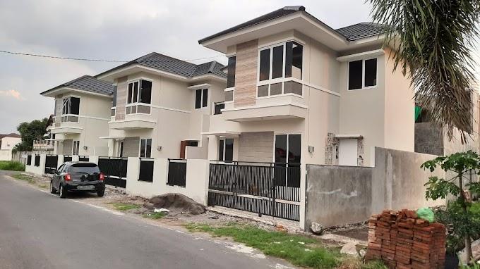 Rumah Cluster Mewah Baru Luxury Pinggir Jalan Strategis Selatan Lotte Mart Maguwo