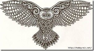 dibujos de buhod en blanco y negro (22)