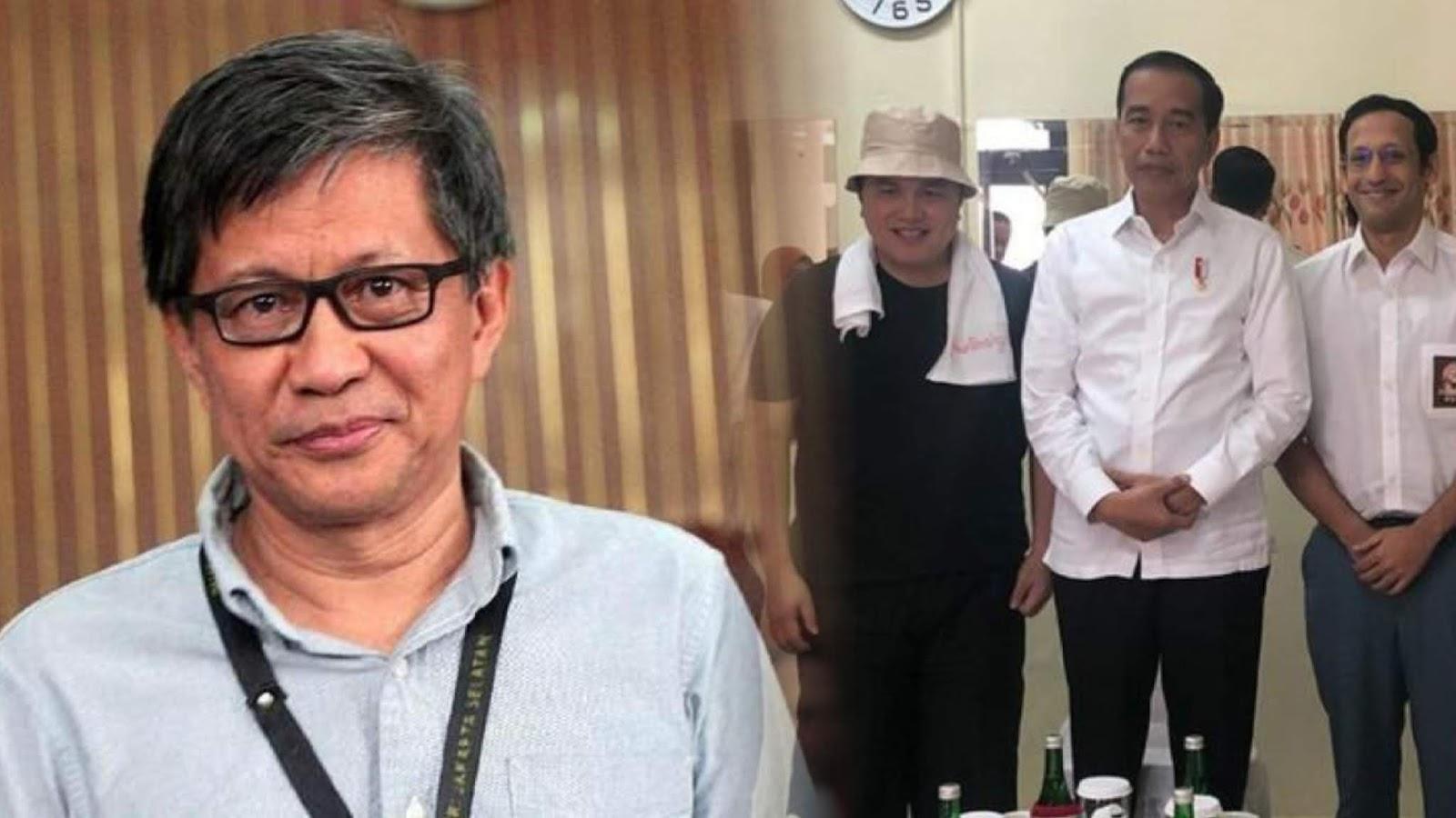 Peringati Hari Korupsi, Rocky Gerung: Mestinya Jokowi Datang ke KPK Pakai Rompi Oranye
