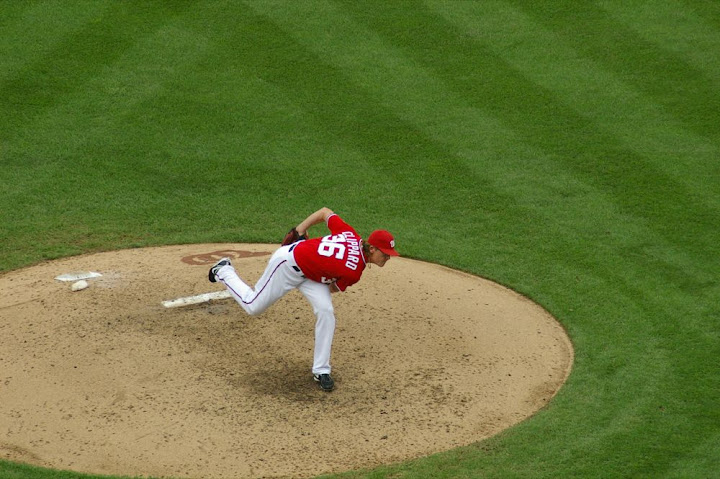 Clippard on the mound