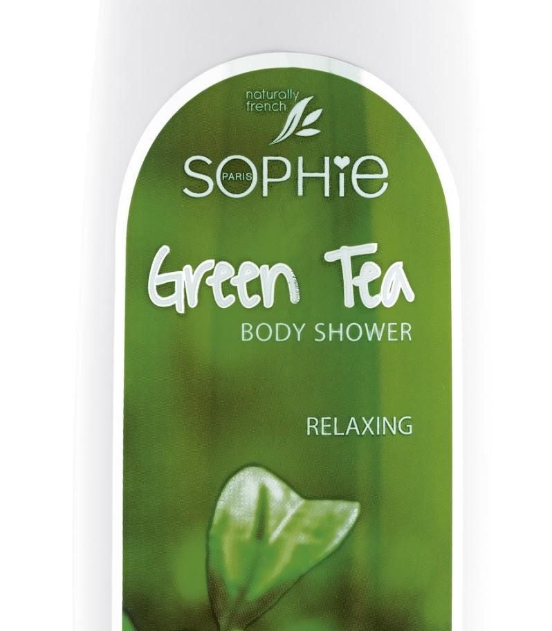 Sữa tắm chiết xuất trà xanh Sophie - NFBSHG