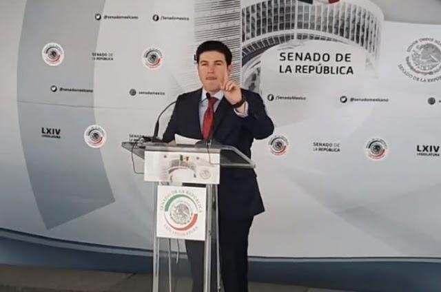 Carece México de un plan fiscal y económico para enfrentar crisis: Samuel García.