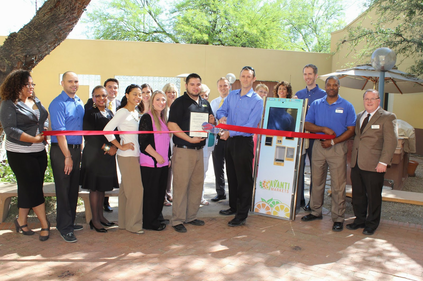 Ace Vending - Ace Vending celebrated the opening of its new Tucson branch.  Ace vending is Arizona's largest privately owned vending company and specializes in office coffee supplies and Avanti Micromarkets.