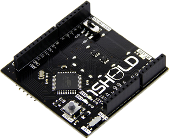 Hardware: 1Sheeld (Android shield for Arduino)