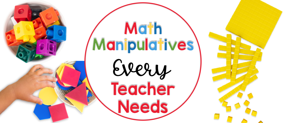 math manipulatives for the primary classroom
