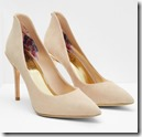 Ted Baker pointed leather courts