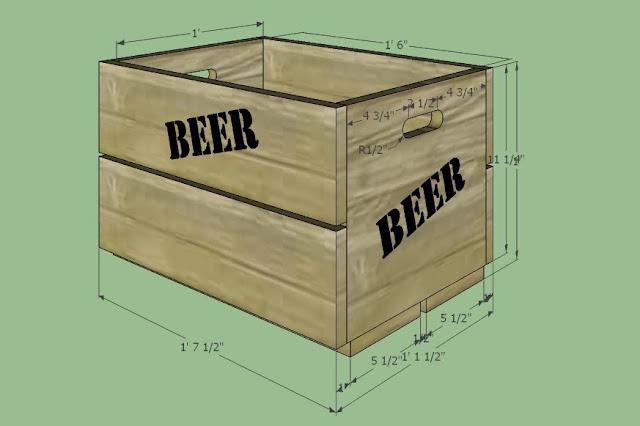 SketchUp Beer Crate