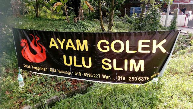 Ayam Golek Ulu Slim di Tanjung Malim