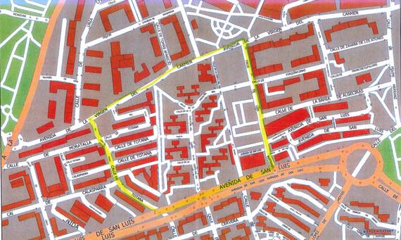 Limpieza de refuerzo de los barrios de Castillejo en Tetuán y San Miguel en Hortaleza