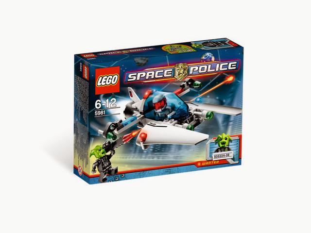 5981 レゴ スペース スペースポリス レイドVPR
