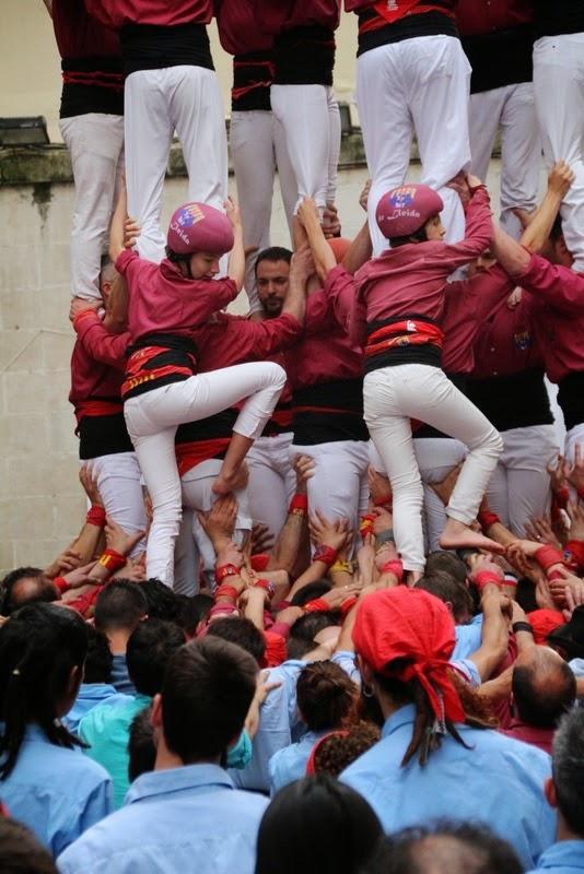 Actuació 20è Aniversari Castellers de Lleida Paeria 11-04-15 - IMG_8925.jpg