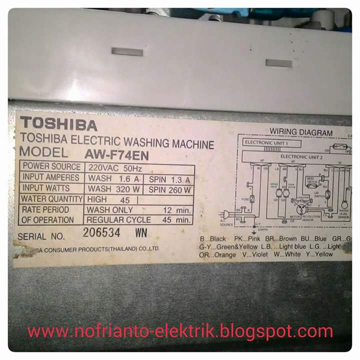 mesin cuci toshiba aw f74en program spin error rh nofrianto elektrik blogspot com toshiba vrf wiring diagram toshiba vrf wiring diagram