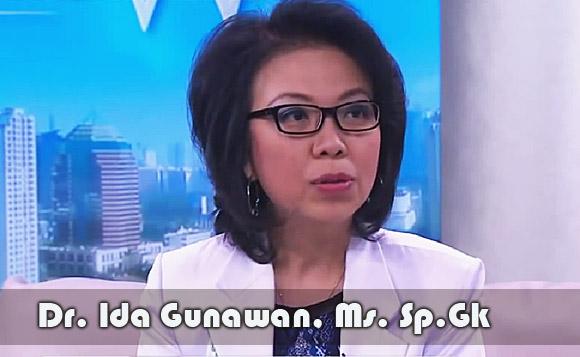 Dr. Ida Gunawan, Ms. Sp.Gk