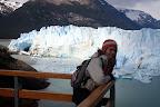 Vasilia Overlooking The Glacier (Perito Moreno Glacier Outside El Calafate, Argentina)