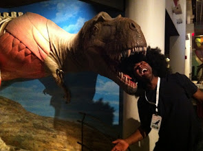 Photo: Ken's Fro Had a Night at The Museum