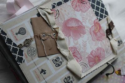 Страничка с конвертом и ключиком