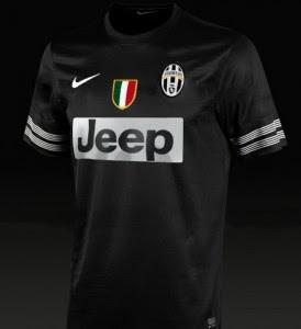 Jual Jersey Juventus Away 2014 Warna Hitam