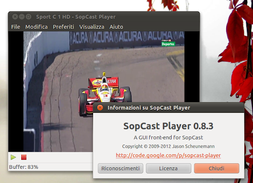 SopCast Player 0.8.3