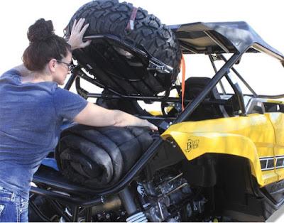 Yamaha YXZ1000R Tire Carrier