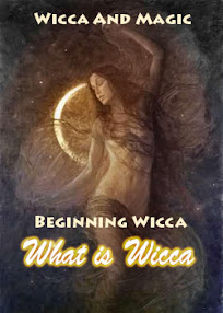 Cover of Anonymous's Book Wicca And Magick Beginning Wicca What is Wicca