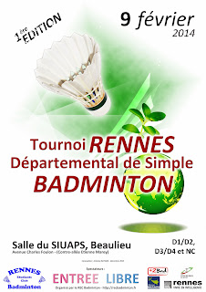 1er Tournoi de Simple 2014