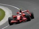 Kimi Raikkonen Ferrari F2007
