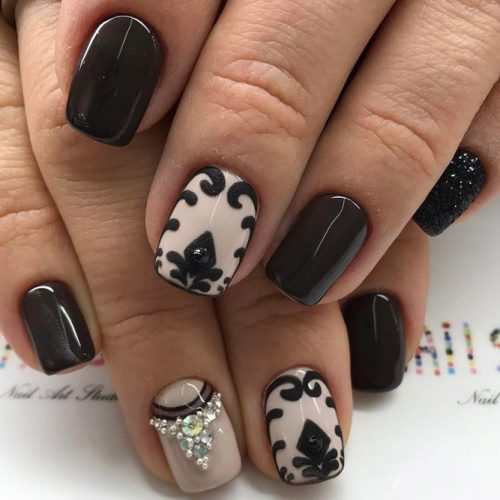 12 Unique Trending Nail Art Designs For 2017: BEAUTIFUL WINTER NAIL DESIGNS 2017 TRENDS