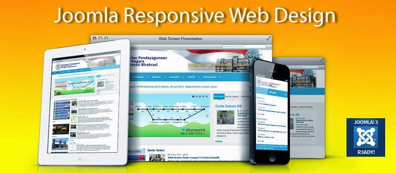 Jasa Website Joomla Mobile Responsive