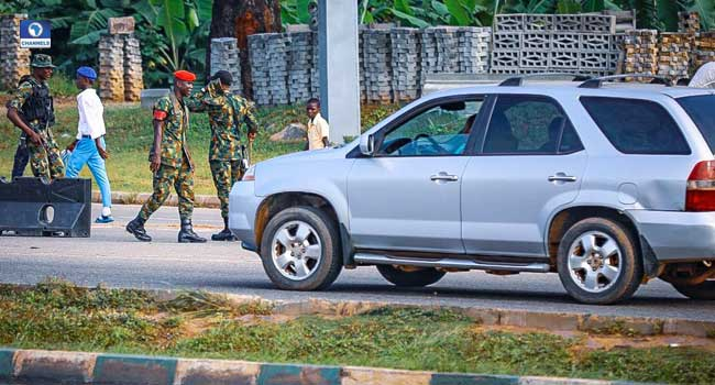 Crocodile Smile Soldiers Take Over Streets Of Abuja