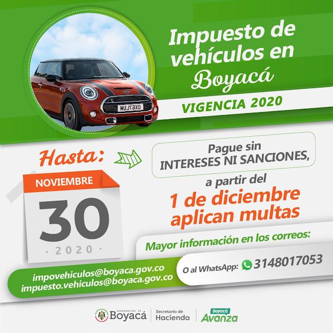 A partir del 1 de diciembre $178.000 de multa para deudores de impuesto de vehículos