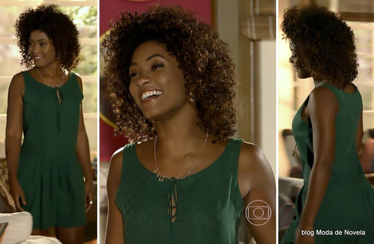 moda da novela Em Família - look da Alice dia 12 de junho