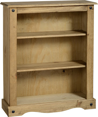 CORONA SMALL BOOKCASE