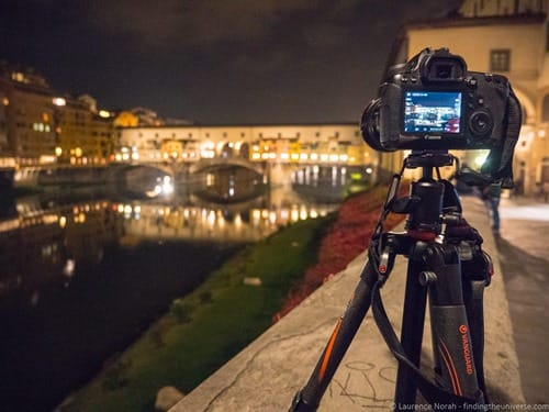 Ponte vecchio Florence at night with VEO