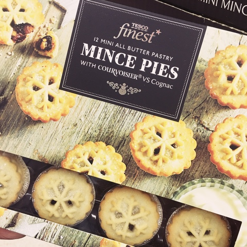 The skinny doll its beginning to look a lot like tesco finest mini all butter pastry mince pies with cognac solutioingenieria Images