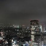 tokyo by night in Roppongi, Tokyo, Japan