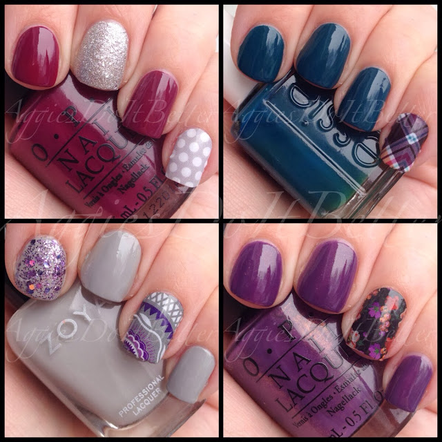 Jamberry Nail Wraps As Accents