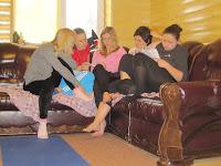 Фоторепортаж с тренинга по ньяса-йоге 12-18 февраля 2012г в Карпатах.734