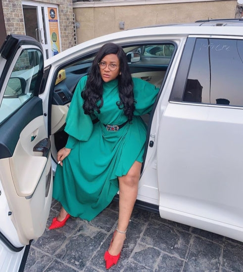 'I be getting the D on a steady' – Actress Nkechi Blessing tells those who think she doesn't have a man
