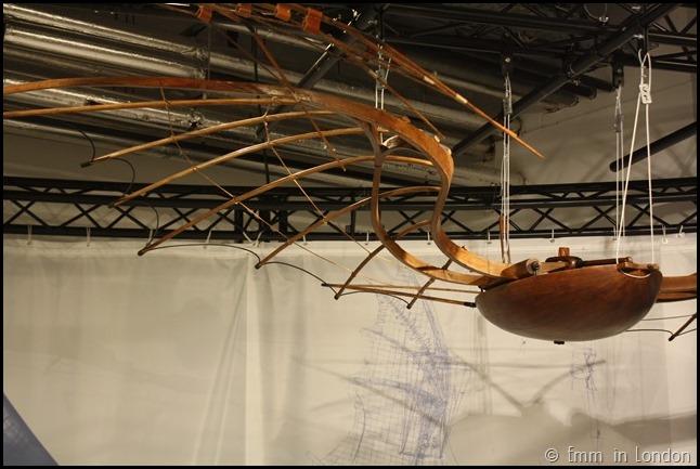 Model of Leonardo da Vinci Flying Machine