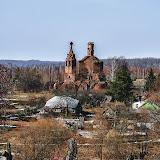 Разрушенная церковь в Марково.