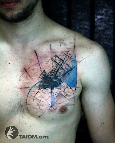 navio_tatuagem_no_peito