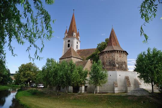 Kirchenburg in Cristian