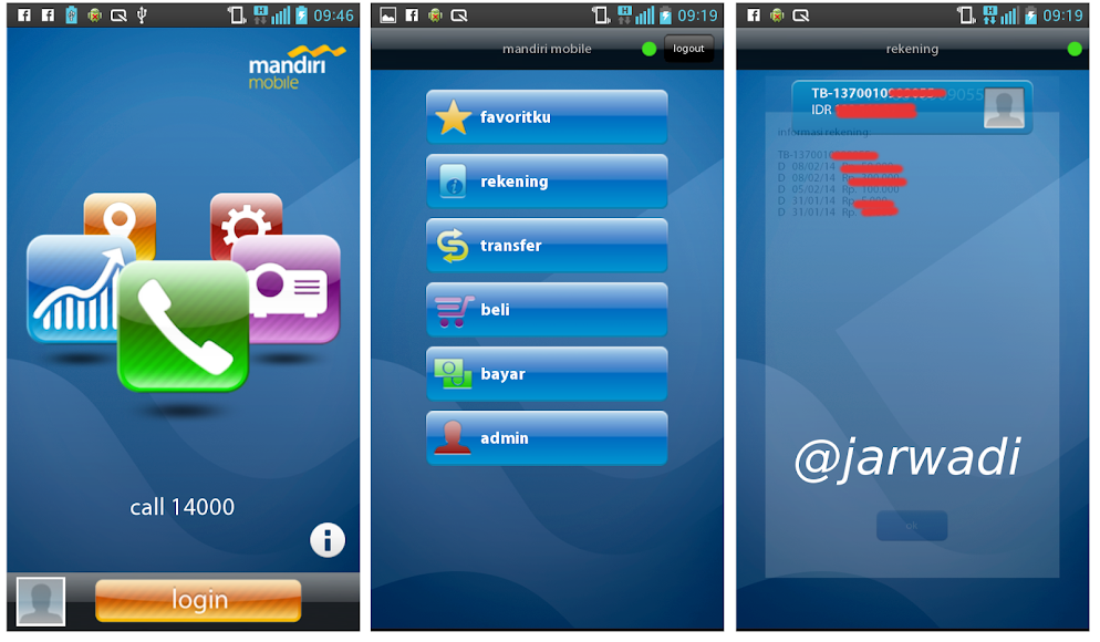 Mandiri Mobile App 01