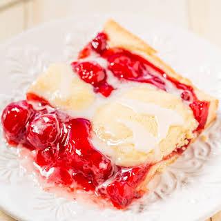 Glazed Cherry Pie Bars.
