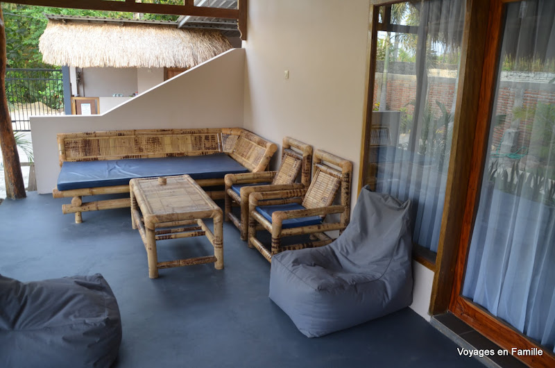 Private terrasse - Albany Homestay