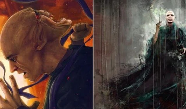 Harry Potter: 10 peças de arte dos fãs de Voldemort dignas de horcruxes