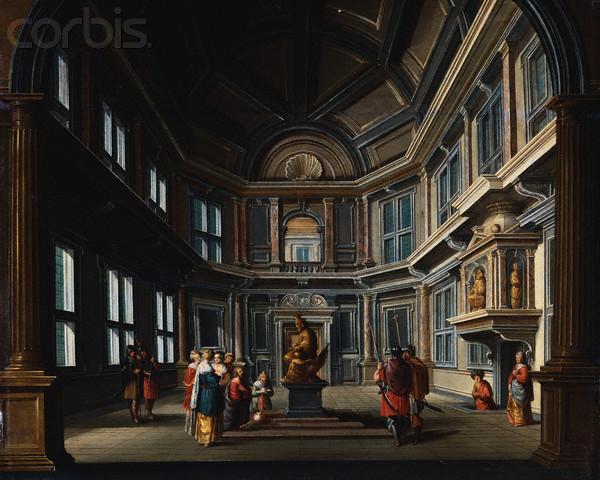 In Temple, King Solomon